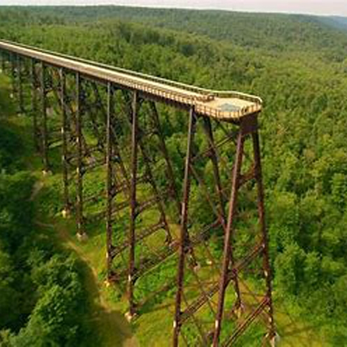 Kinzua Bridge & Dam - A Road Less Traveled