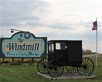 The Windmill & Corning Glass Festival